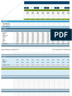 Personal Budget template