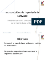 01 Introduccion a La Ingenieria de Software