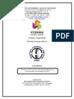 III B.tech II Sem 2012-2013 Hand Book