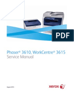 Xerox WorkCentre 3615 Service Manual