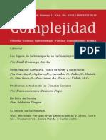 Revista Complejidad 21