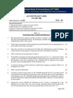 Sample Paper 4