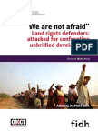 2014 Annual Report of the Observatory for the Protection of Human Rights Defenders