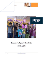 Deepam Half-yearly Newsletter Jan'15 v1