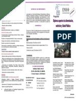 Diploma Superior de Alimentación, Nutrición y Salud Pública (Año 2015)
