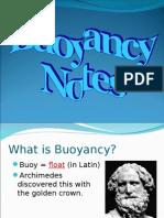Buoyancy Notes 2013
