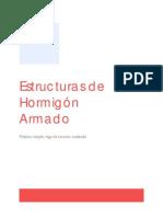 Estructuras de Hormigón Armado