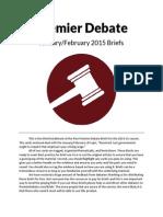 Premier Debate Briefs JF15