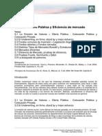 Lectura 4 Oferta Publica y Eficiencia de Mercado