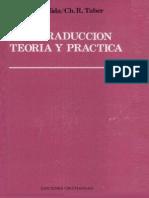 Eugene Albert Nida Charles Russell Taber La Traduccion Teoria y Practica