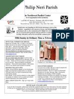 Feb 8 Bulletin