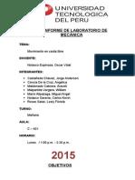 Informe final de Mecanica Caida Libre