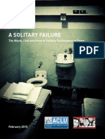 ACLU Texas Solitary Report