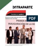 04-02-2015 Contraparte - Esta Será Una Ciudad Modelo Para El País, Sostuvo Moreno Valle Ante Habitantes de San José Chiapa