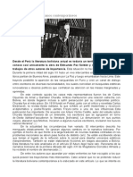 Tres Narradores Bolivianos Contemporáneos