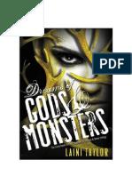Laini Taylor - 3 Sonhos Deuses e Monstros