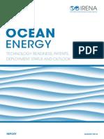 IRENA Ocean Energy Report 2014 PATENTS