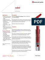 SLXN Lock Mandrel Technical Datasheet