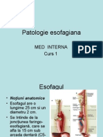 1. Esofag (Med Interna)