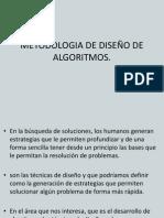 Metodologia de Diseño de Algoritmos