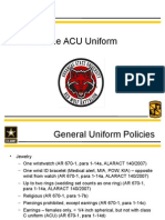 uniform wear