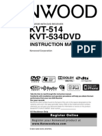 Manual de Manual de usuario Autoestereo Kenwood KVT-514Usuario Autoestereo Kenwood KVT-514