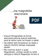 Fusha magnetike stacionare