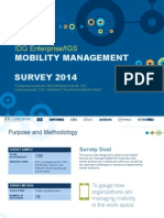 2014 IDG Enterprise/IGS Mobility Management Survey