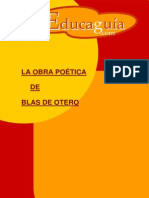 La Obra Poetica de Blas de Otero