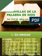 MARAVILLAS DE LA PALABRA DE DIOS.pptx