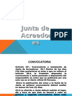Junta de Acreedores en el Derecho Concursal