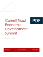 2015 Cornell Tribal Economic Development Summit