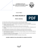 Caderno Questoes Perito Criminal 2003 SP