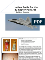 F-22 Construction Guide Scratchbuild Rev A