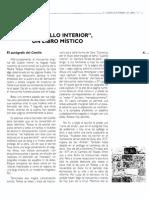 ALVAREZ, Tomás - Castillo Interior, Libro Mistico - (Artículo) Www Sf