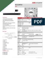 Hikvision DS-7604-08-16NI-E1-4P(-E2-8P)-A