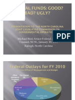 01. Presentation by NCSL. Federal Funds.good Bad Ugly