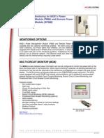 MGE PDU Monitoring