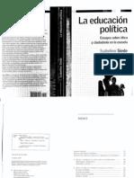 Educación Política