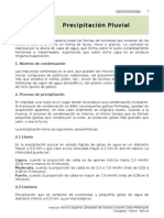3. Precipitacion Pluvial, Agroclimatologia