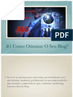 6 Principios Do Internet Marketing - #1 Como Otimizar o Seu Blog