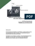 Guattarinocesadeproliferar/ Artecomomáquinaecosófica/