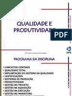 Qualidade e Produtividade_2014