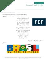 O Olhar Do Brasileiro Sobre a Sua Própria Aquarela