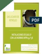 NFPA 58 y NFPA 54