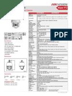 Hikvision Camara Domo IR PTZ DS-2DF7286-7284-AW