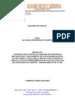 Informe Laboratorio Plataforma en Concreto Para Montaje de Planta de Tratamiento