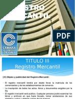 REGISTRO MERCANTIL EN COLOMBIA