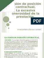 6. Cesión de Posición Contractual - La E.O.P.