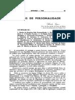 Direitospersonalidade Orlando Gomes